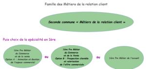 Famille de métiers de la relation client